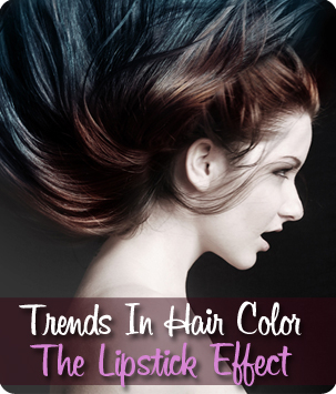 Trends in Hair Color: the Lipstick Effect