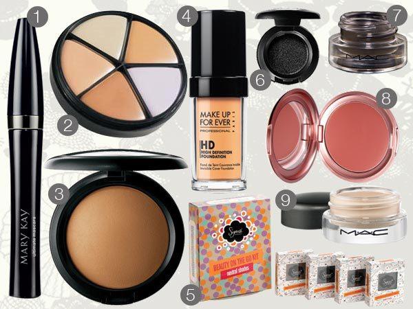 mary kay makeup brushes. (1) Mary Kay Ultimate Mascara,
