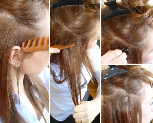 How To Clip In Hair Extensions In 9 Simple Steps