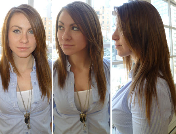 How to clip in hair extensions in 9 simple steps pmusecretfo Gallery