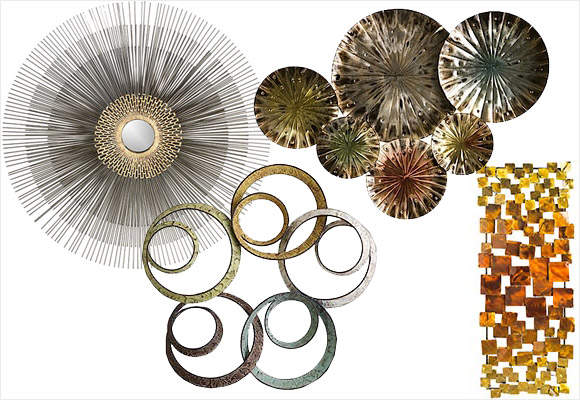 Pier One Round Wall Decor : Home decor inspirations metallics and sequins