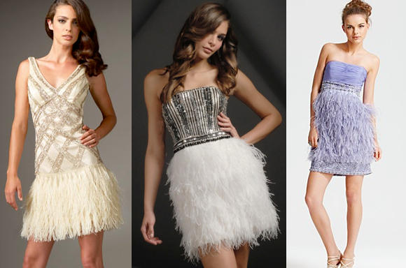15 short dresses for prom for Wedding dress with feathers on bottom