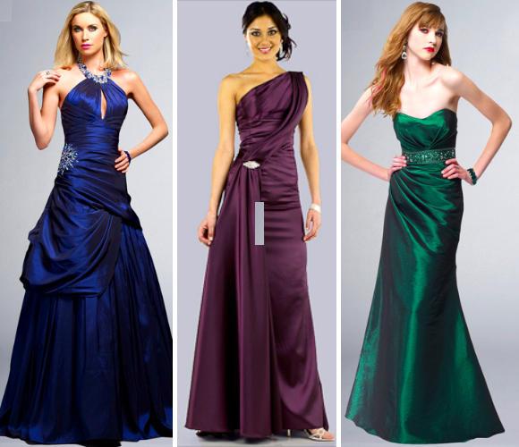 Jewel Tone Evening Dresses