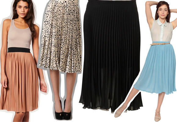 Sweet Pleats: Ballet-Style Pleated Skirts