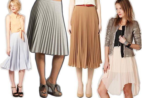 Sweet Pleats: Ballet-Style Pleated Skirts