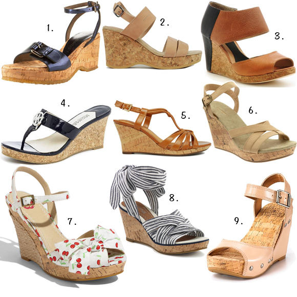 94c9005c8ae057 Cork Wedge Sandals That Won t Break Your Ankles
