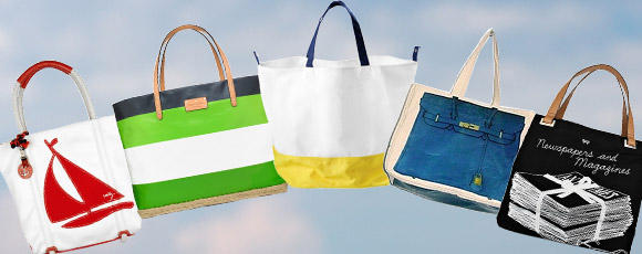 24 Carryall Canvas Tote Bags
