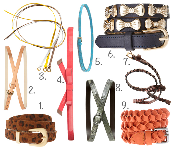 summer accessories belts for dresses