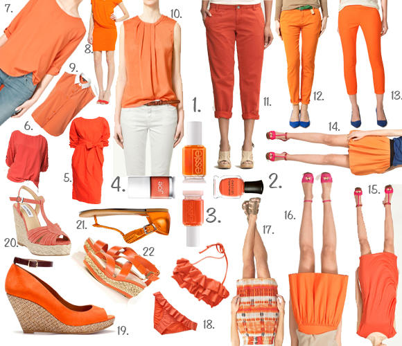Summer It Colour Orange Nail Polishes Best Pieces