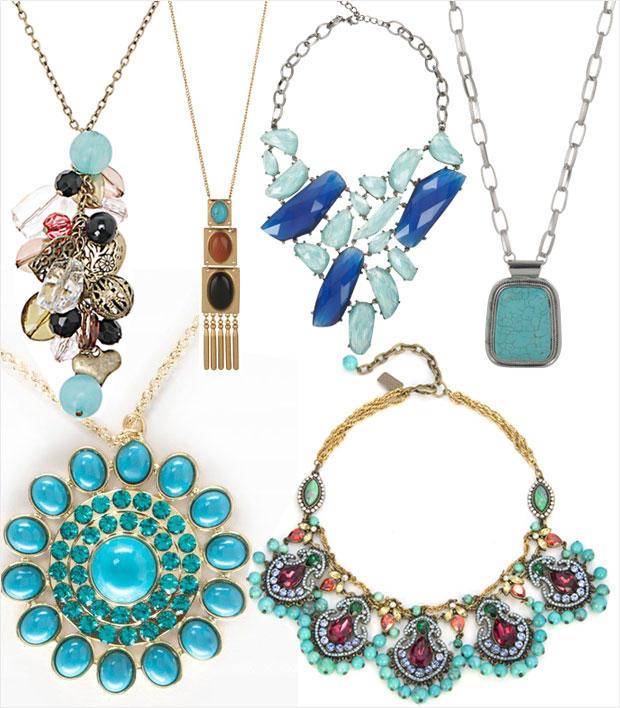 Trendy Turquoise: 27 Summer Jewelry Picks