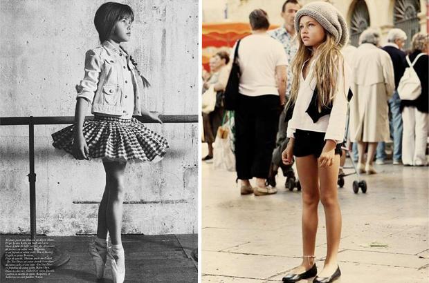 Thylane Loubry Blondeau: The 10 Year Old Model