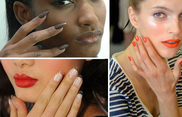 runway report nail trends for spring 2012