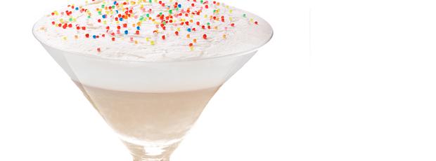 Birthday Cake Milkshake Martini Recipe