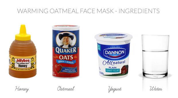 Diy Facials Warming Oat Honey Mask Recipe