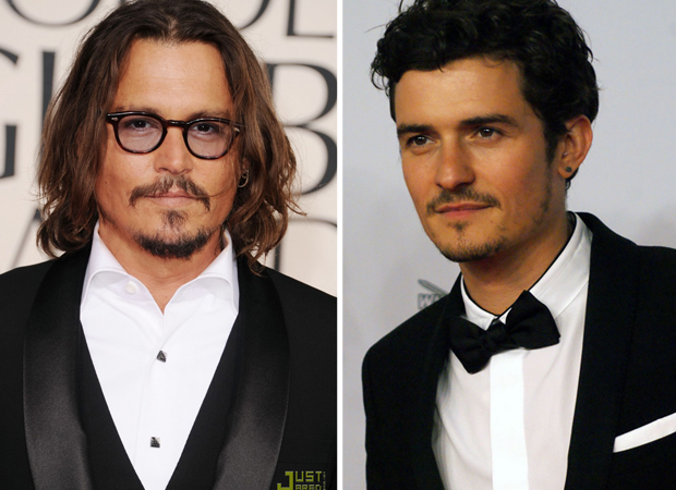 Gratuitous Pirate Hottie Face Off: Johnny Depp vs. Orlando ... Johnny Depp Looks