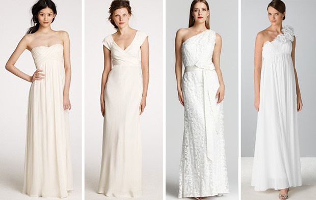 From left j crew taryn gown c 638 00 j crew cecilia gown c 574