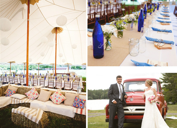 We love some of the ideas from our rustic wedding article and