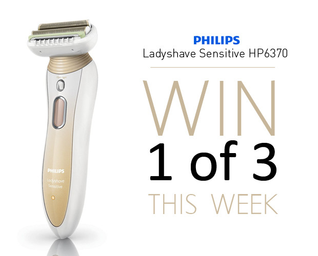 Win a Philips Ladyshave HP6370