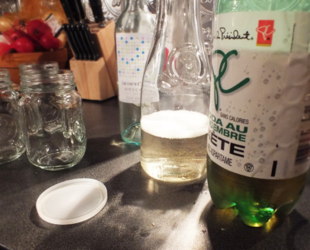 how to make a wine spritzer with ginger ale