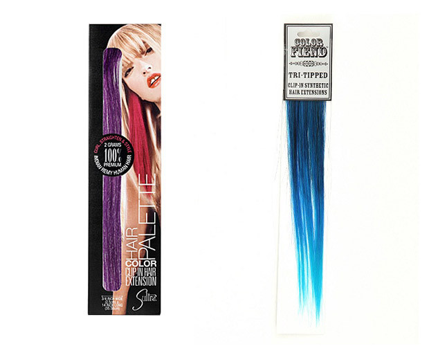 Trending In Beauty Dip Dying And Brightly Coloured Hair