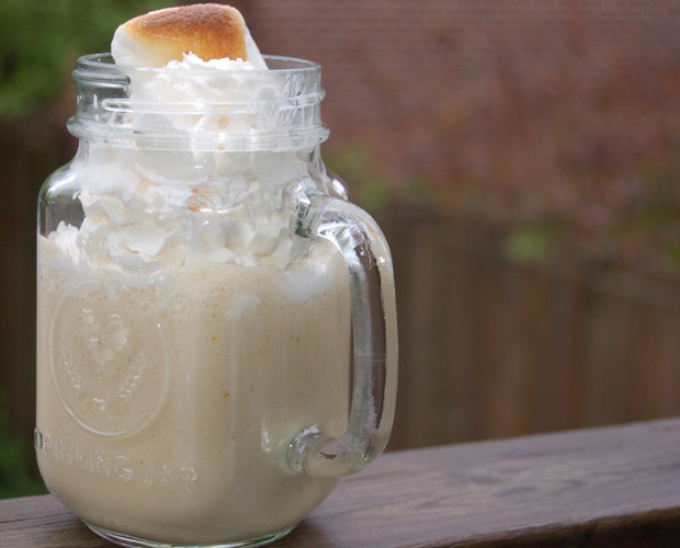 DIY Drinks: Toasted Marshmallow Milkshake Recipe