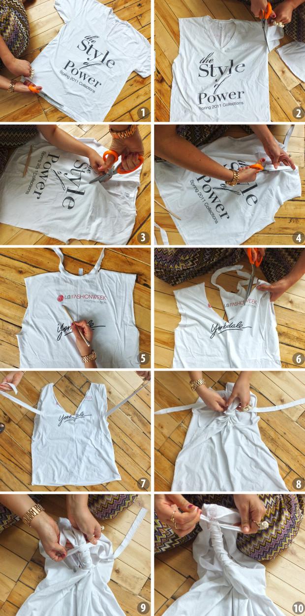 how to make a cut off workout shirt
