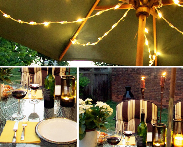 Backyard BBQ Party Ideas Lighting And Decor