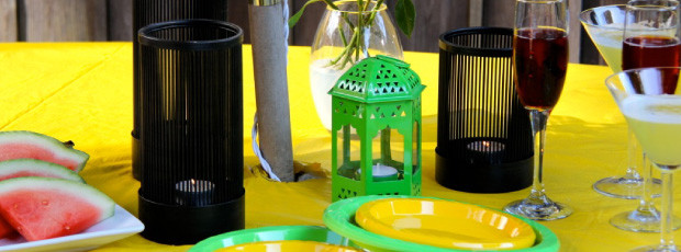 Backyard bbq party ideas lighting and decor for Backyard bbq decoration ideas