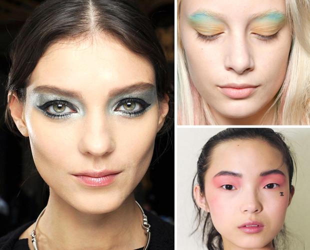 Eye makeup transfers