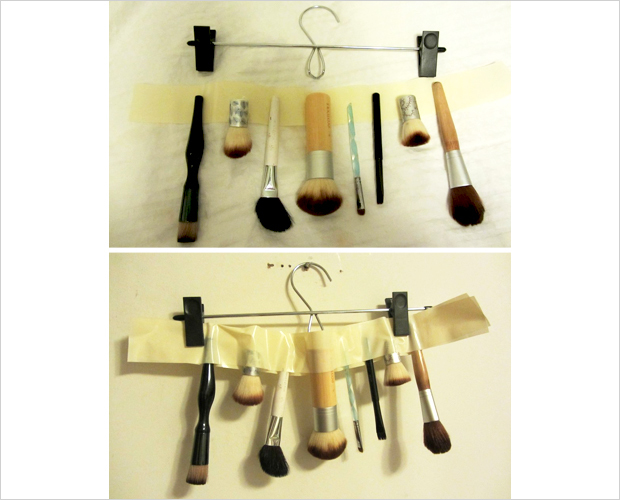 How to dry makeup brushes fast