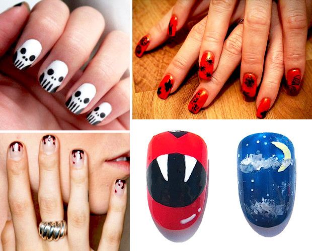 Halloween Nail Art Round Up