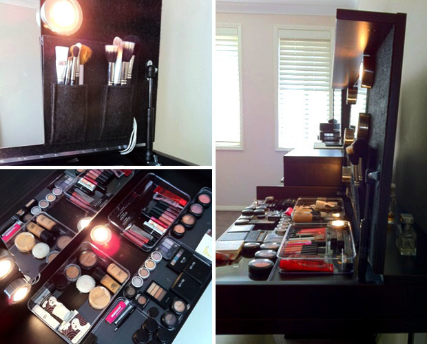 Tip Tuesday Easy Diy Makeup Station