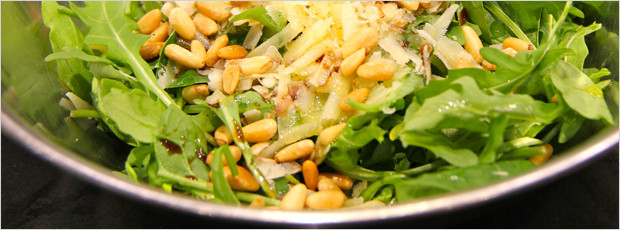Easy Arugula Salad Recipe