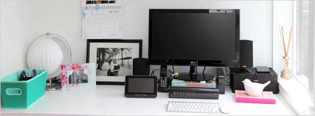 Desk Makeover on a Budget