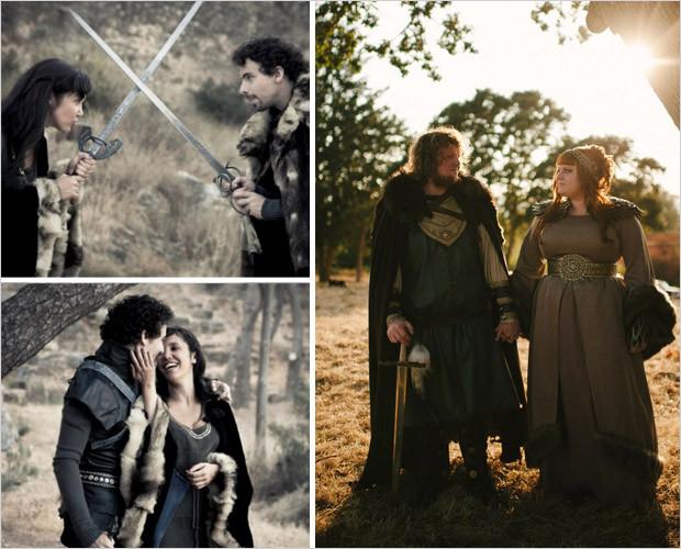 Wedding Wednesday: Game Of Thrones Inspired Wedding