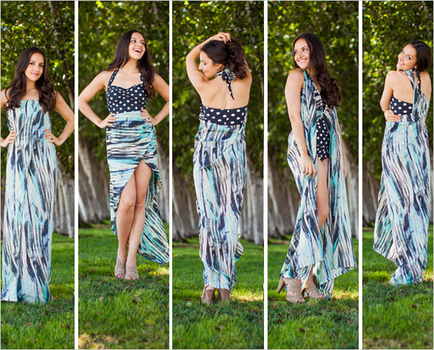 how to wear a sarong cover up