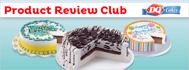 Product Review Club Offer Dairy QueenR Personalized Cakes