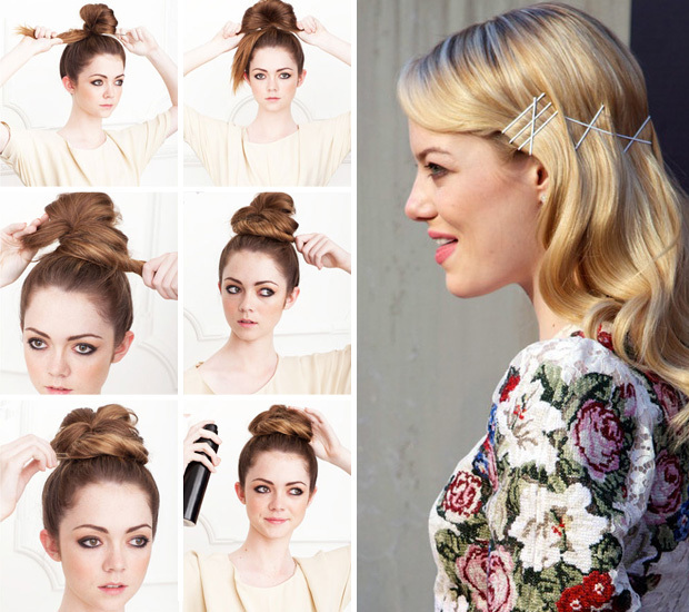 No Fuss Simple and Easy Hair Styles For Back to School