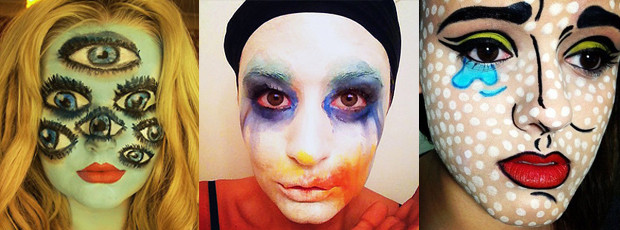 15 Super Cool Halloween Makeup Ideas