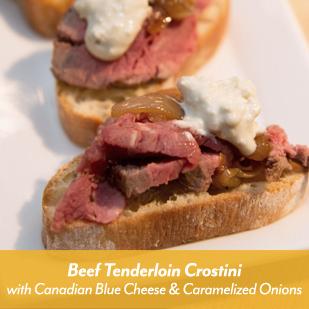 Click to download Beef Tenderloin Crostini