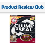 New Product Review Club: Arm & Hammer™ Clump & Seal™ Cat Litter