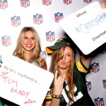 NFL Sunday Social Party Pictures + Game Day Pinterest Table