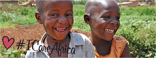 #ICareAfrica