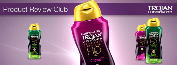 New Product Review Club Offer Trojan H2o Water Based Liquid Lubricants