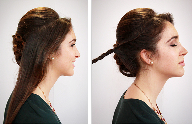 Wedding Hair Tutorial Royal Inspired Chignon
