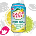 New Product Review Club Offer: Canada Dry Club Soda Lemon-Lime