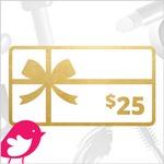 WIN a $25 Gift Card!