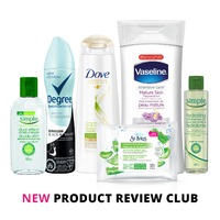 New Product Review Club Offer / Club des bancs d'essai : Multi-Brand Women's Personal Care