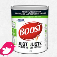 New Product Review Club Offer / Club des bancs d'essai : BOOST® Just Protein™