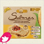 New Product Review Club Offer / Club des bancs d'essai : SANISSIMO Salmas Oven Baked Corn Crackers